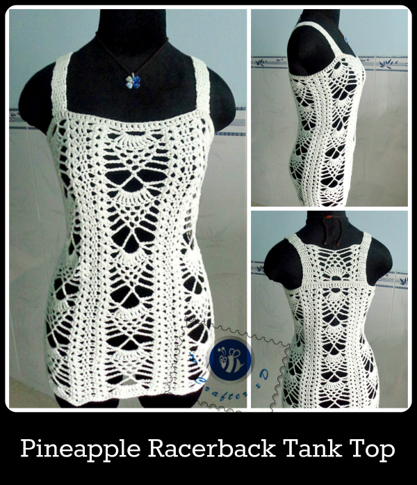 crochet racerback tank top