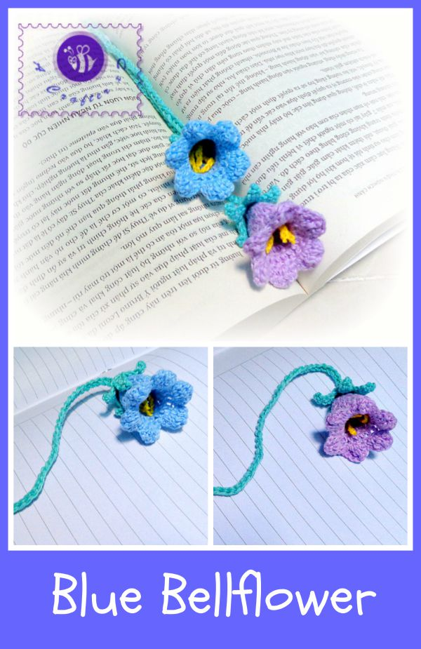 crochet bell flower free pattern