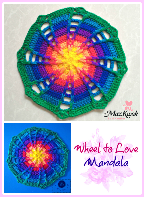 wheel to love mandala
