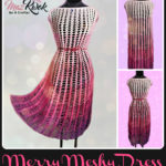 Crochet Merry meshy dress