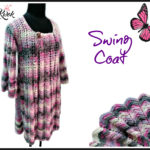 Crochet swing coat
