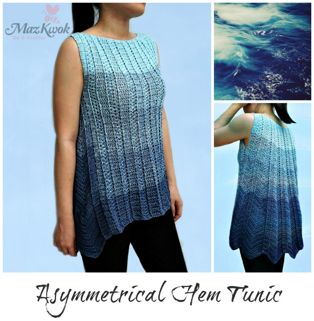 asymmetric hem tunic